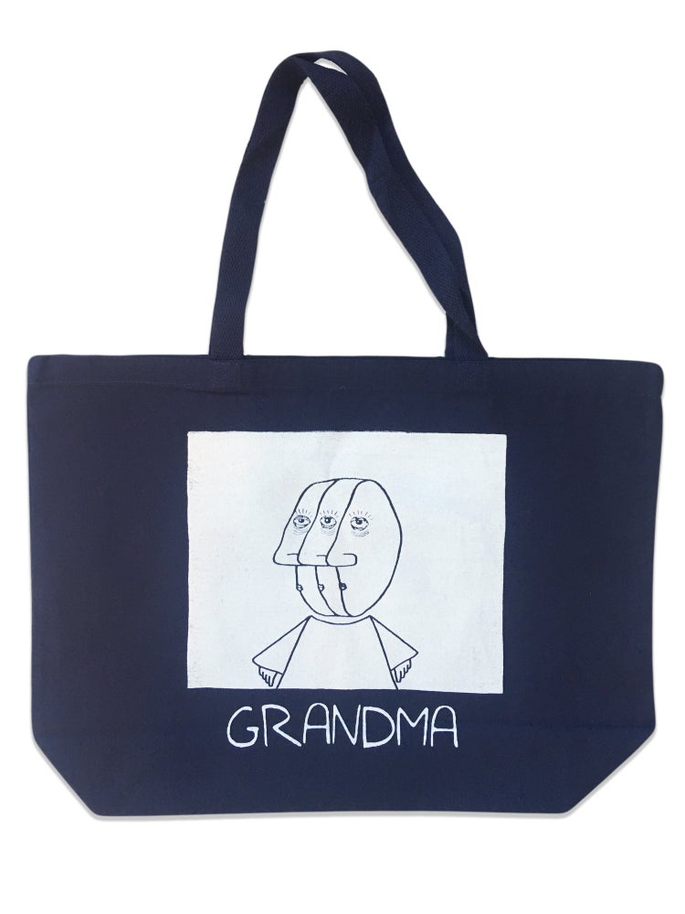Image of 3 Head Tote (Navy)