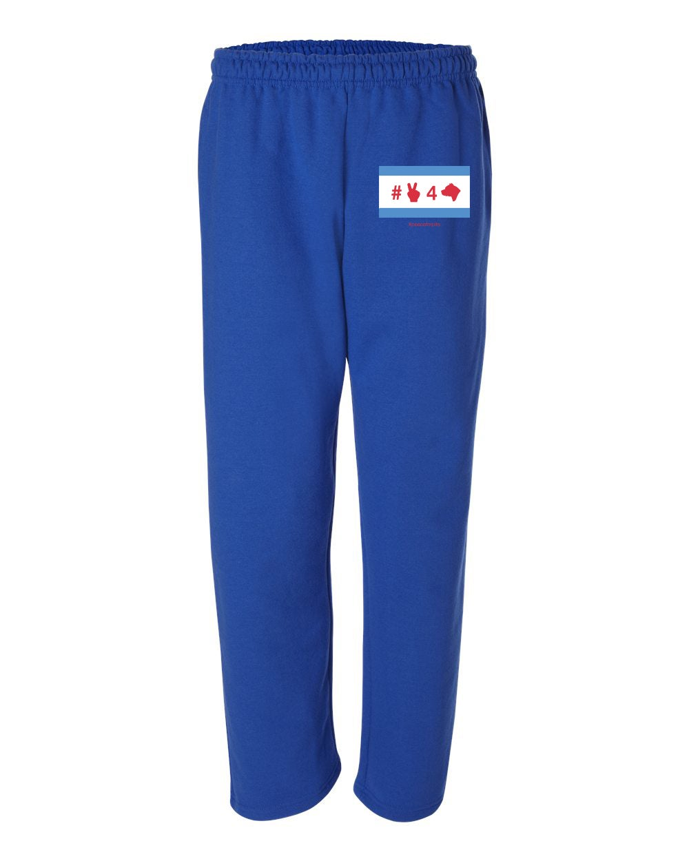 Image of Royal Blue Sweatpants with Pockets