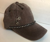 Image of Acid Washed Baseball Hat Horse Bit