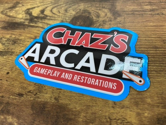 Image of Chaz's Arcade Decal