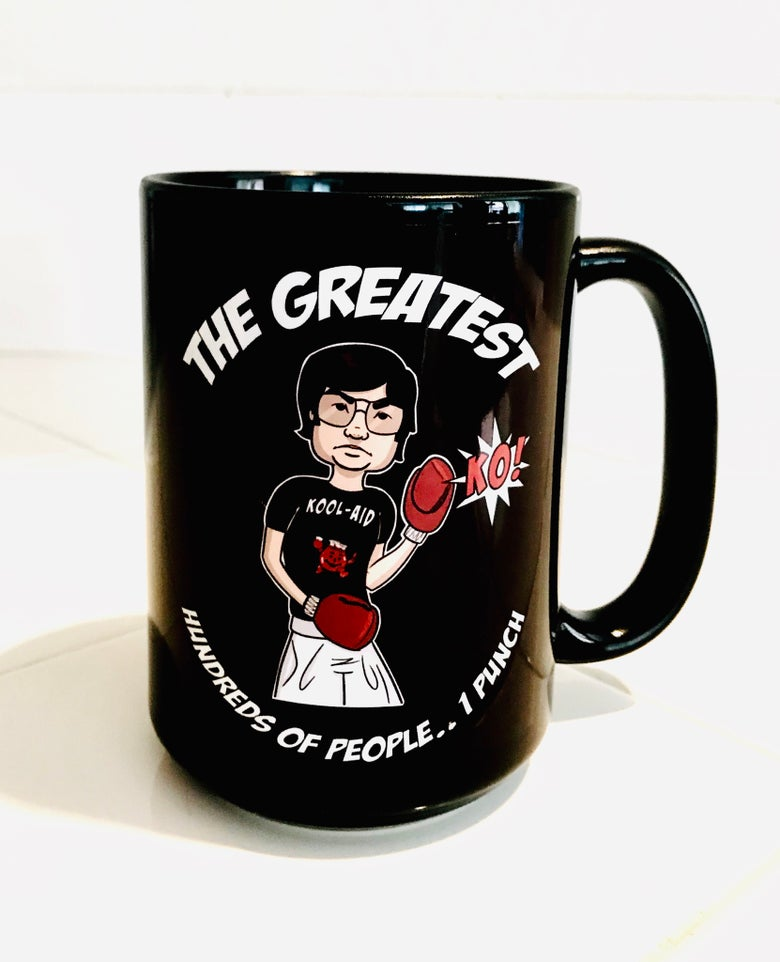 Image of Jim Jones KO Mug