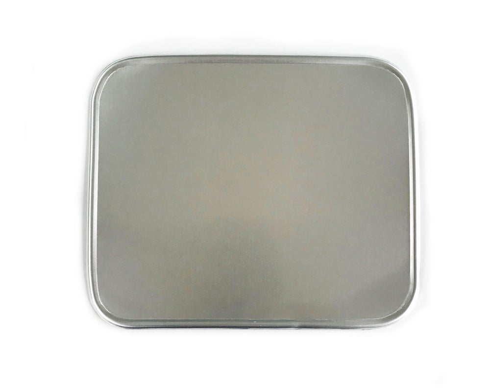Image of Alloy Rectangular Number Plate - Single