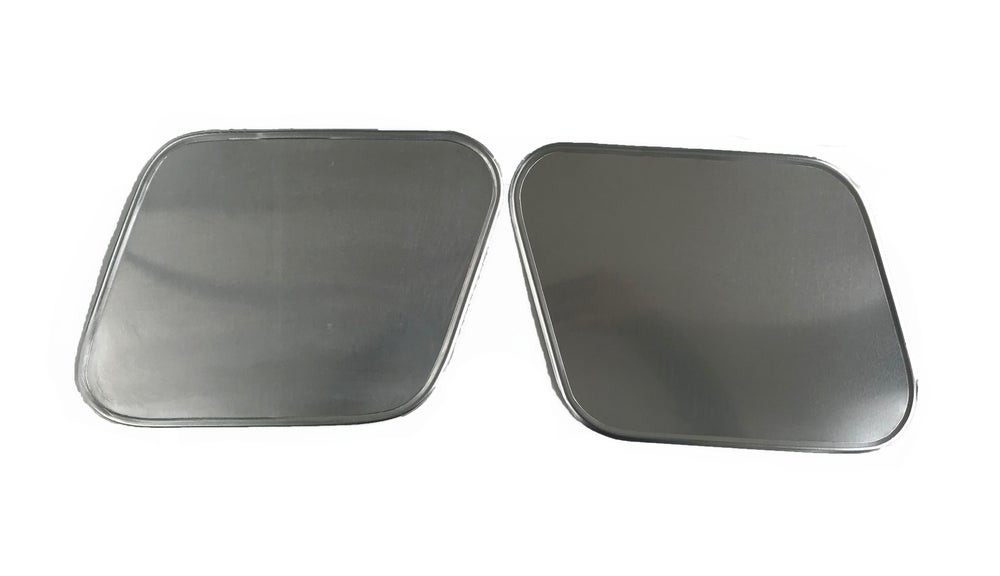 Image of Alloy Go Faster Number Plates - Pair