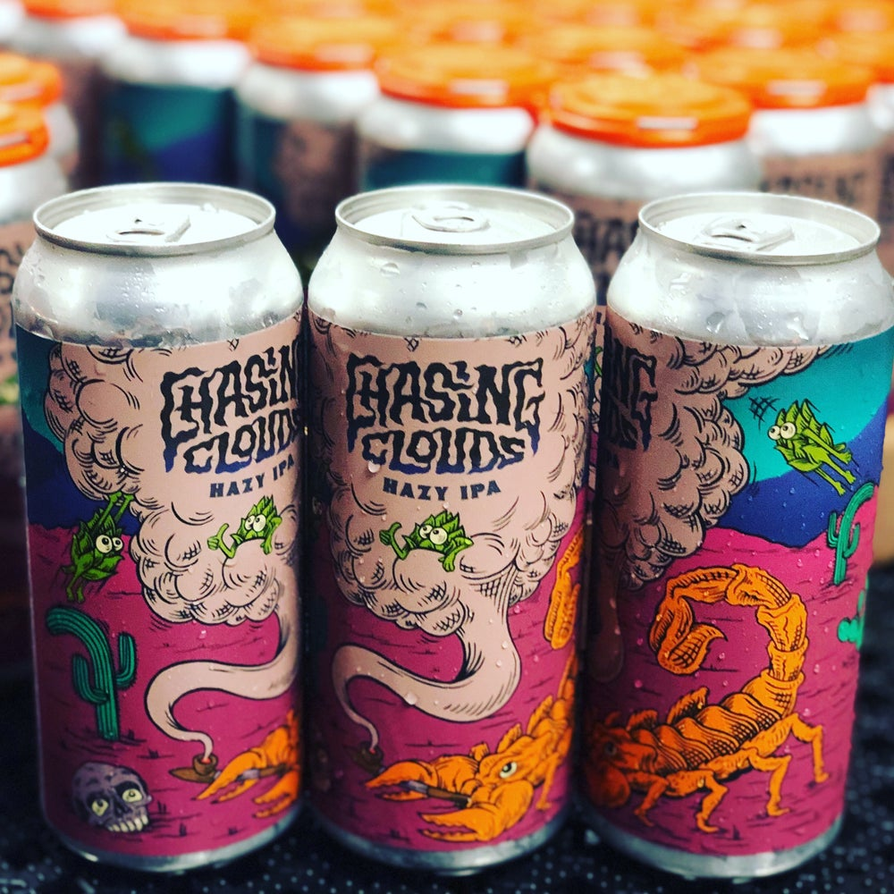 Image of Chasing Clouds Hazy IPA 16oz 4-packs