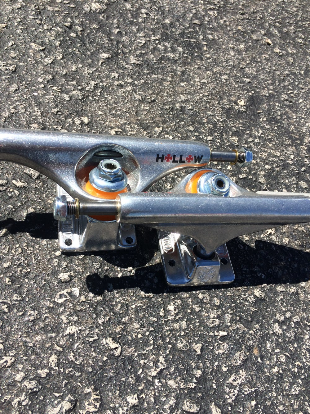 Image of Independent Trucks Hollow 139 Chrome