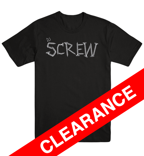 DJ SCREW 3rd Edition (Men's fitted)