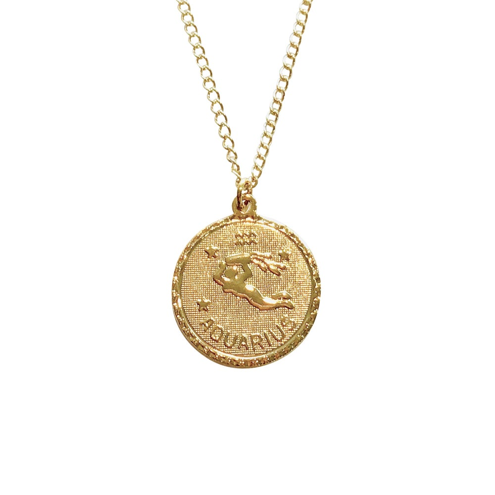 Image of Zodiac Necklace Winter Birthdays