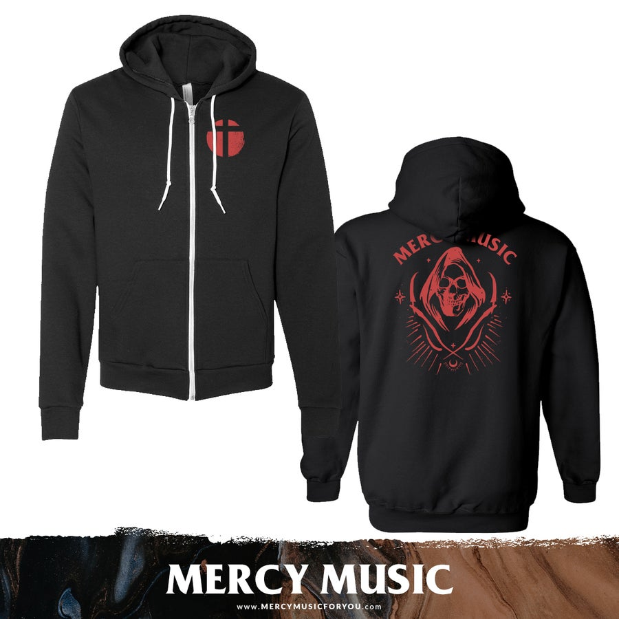 Image of Reaper Zip Up Hoodie 2