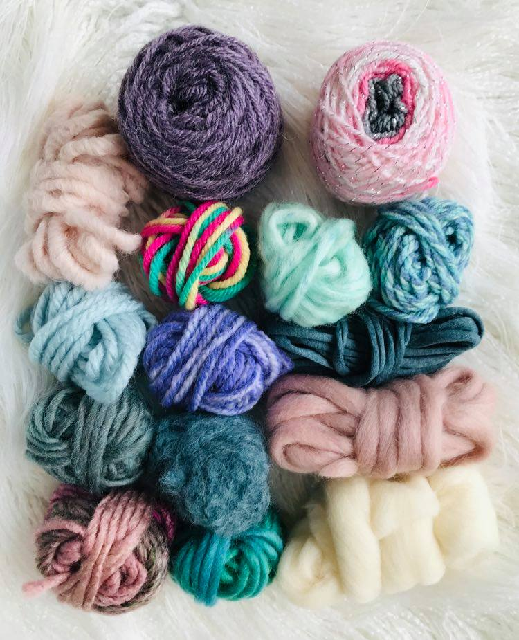 Image of Pretty Pastel Fibre Pack