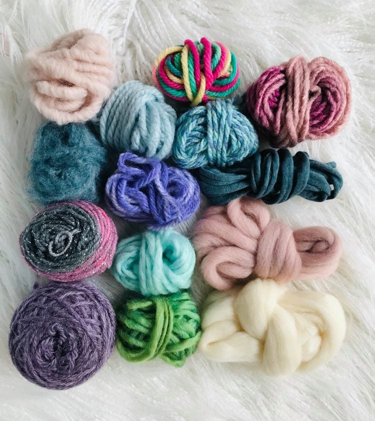 Image of Pastel Rainbow Fibre Pack
