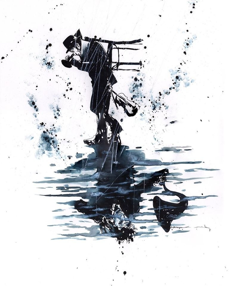 Image of Tom Waits Fine Art Print