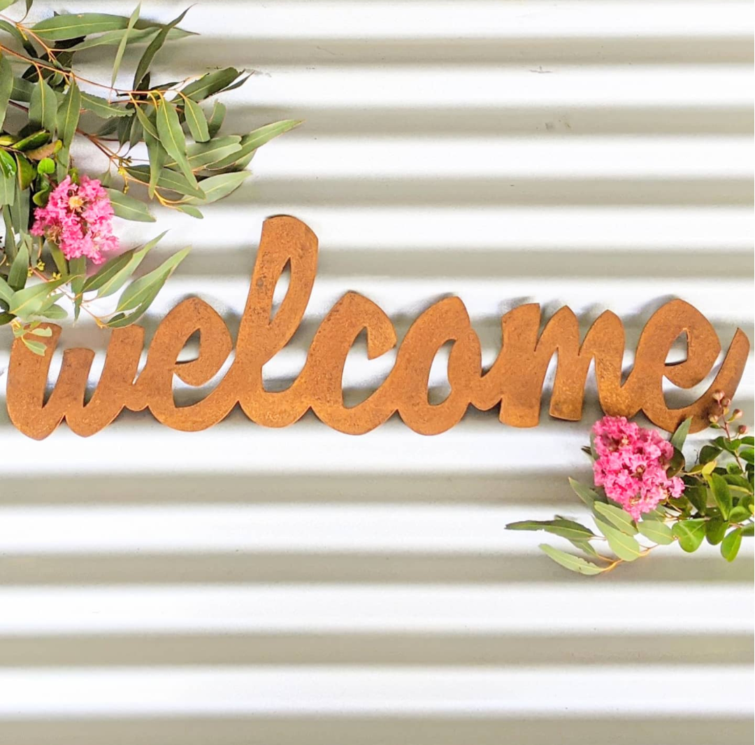 Welcome Sign - Script