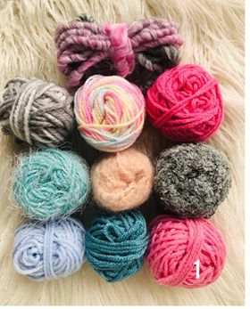 PInks and Blues Fibre Packs