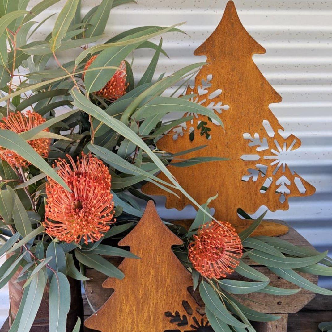 Rusty Christmas Trees