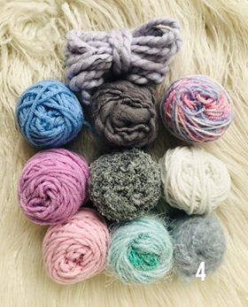 PInks and Blues Fibre Packs 2