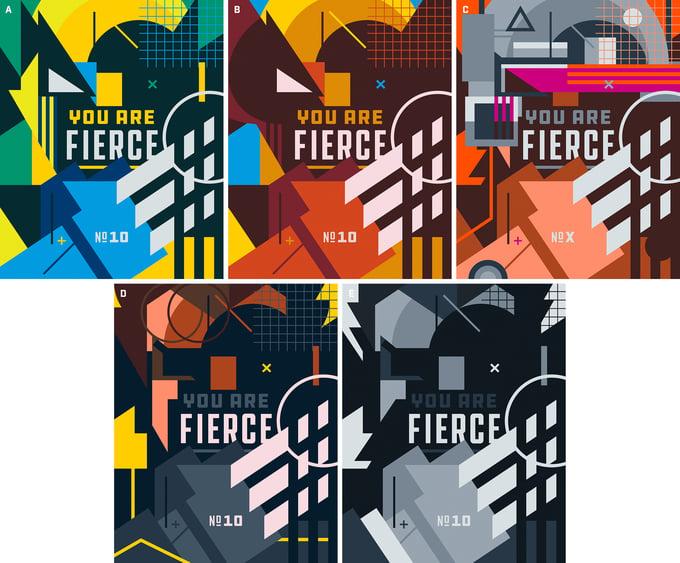 Image of Fierce (Wolverine) - 5 Versions