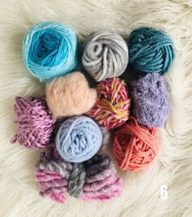 Image of Pink and Blues Fibre Packs