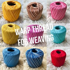 Image of Colourful Warp Thread Crochet Cotton 50g