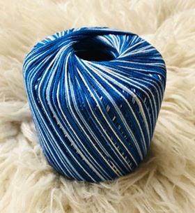 Colourful Warp Thread  2 Crochet Cotton 50g