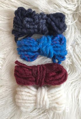 Image of Thick Yarn Packs for your Weavings 2