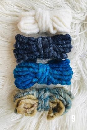 Thick Yarn Packs for your Weavings 2