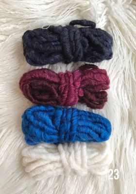 Thick Yarn Packs for your Weavings 5