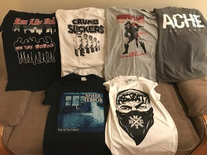 Image of Size SMALL Lockdown Special  - Sheer Terror, Run Like Hell, Crumbsuckers, Murphy's Law, Ache, Abject