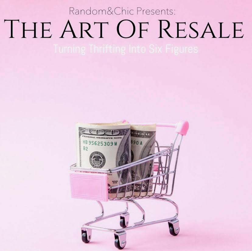 Image of The Art of Resale Ebook: Thrifting into Six Figures