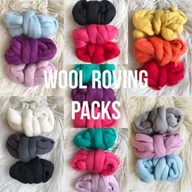 Image of Wool Roving Packs 2