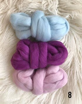 Wool Roving Packs 2