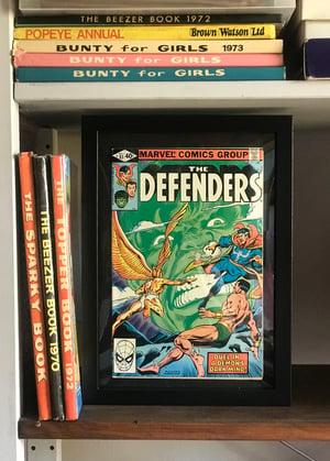 Image of More Framed Vintage Comics-Marvel/DC