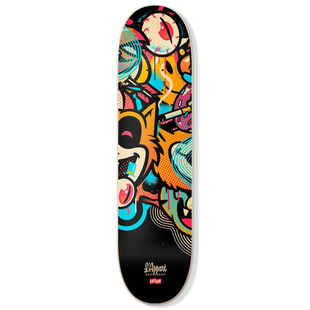Image of EKIEM X L'APPART SKATEBOARD DECK