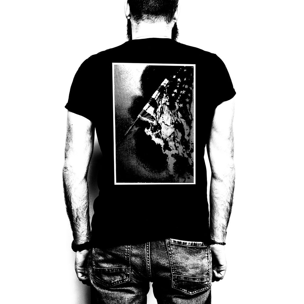 Image of BLAST BEATS: FLAG / t-shirt | €25 (ex ppd)