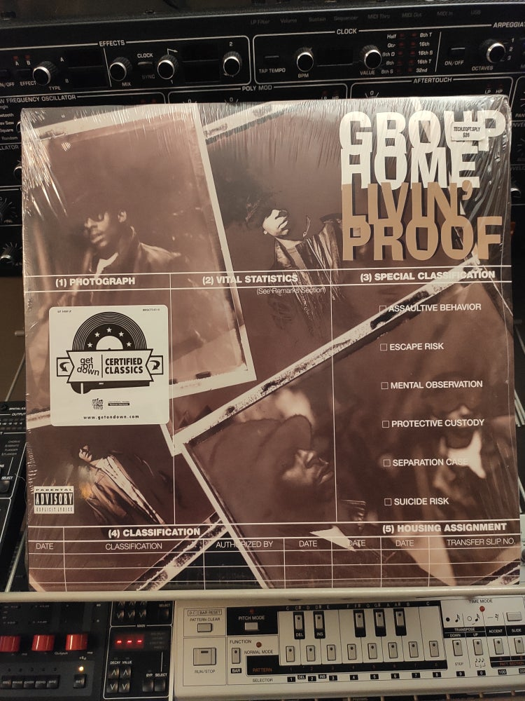 Image of Group Home ‎– Livin' Proof