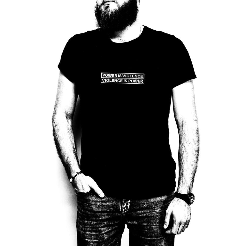 Image of BLAST BEATS: HAND / t-shirt   €25 (ex ppd)