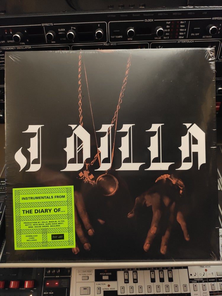 Image of J Dilla ‎– The Diary (Instrumentals)