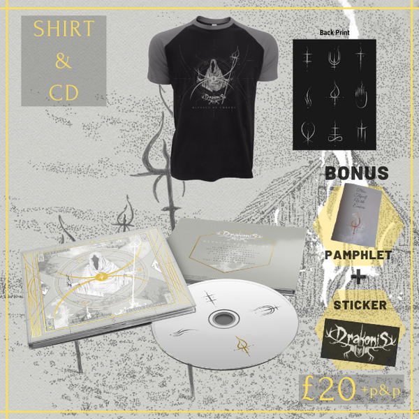Image of Blessed by Embers - Shirt + CD bundle