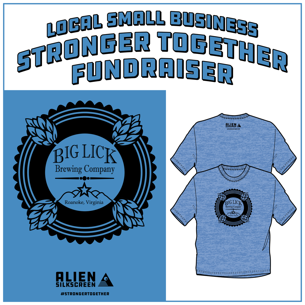 Big Lick Brewing Stronger Together Fundraiser