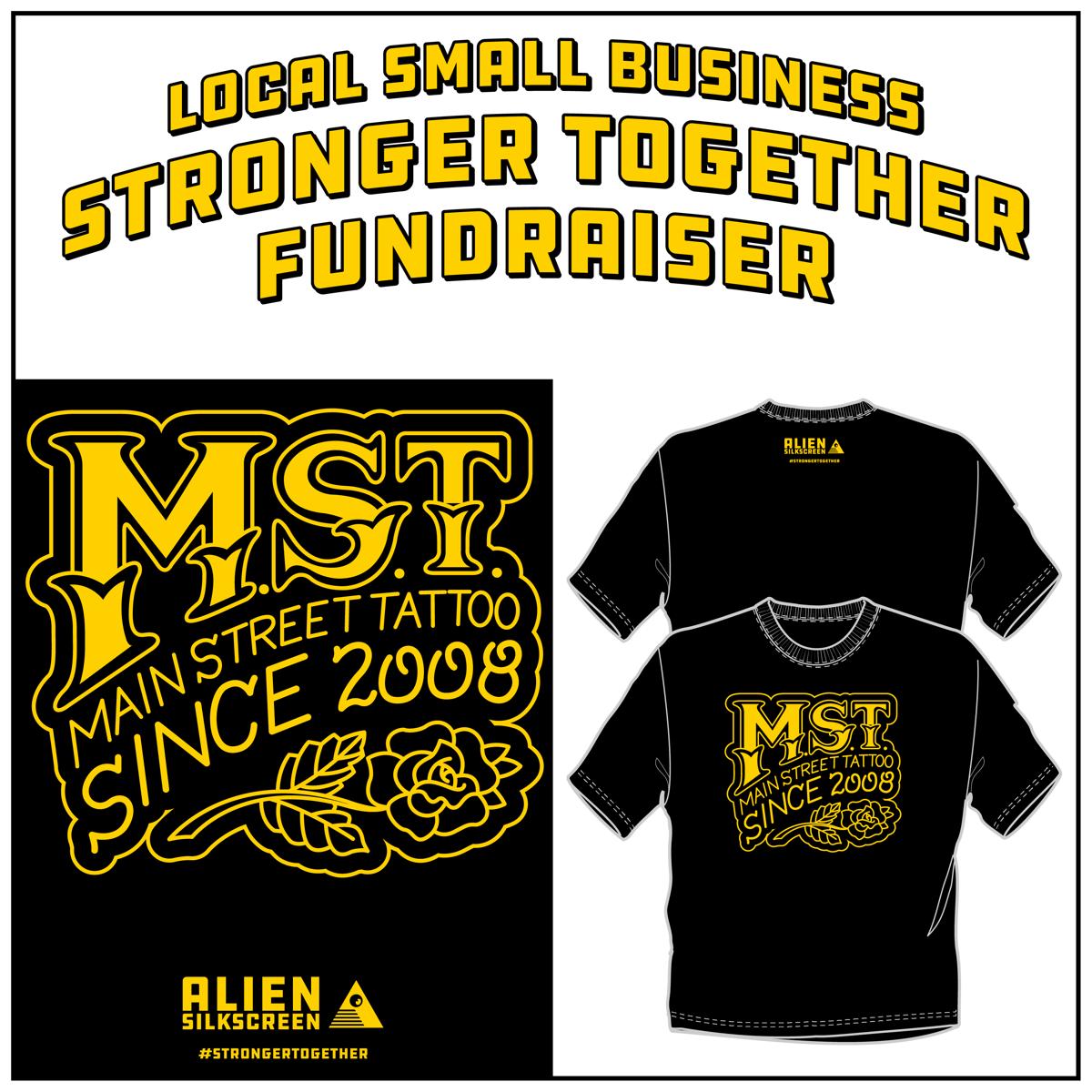 Main Street Tattoo Stronger Together Fundraiser