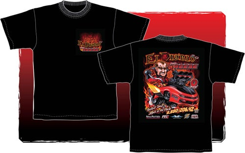 "Image of El Diablo 2.0 ""World Record"" T-Shirt"