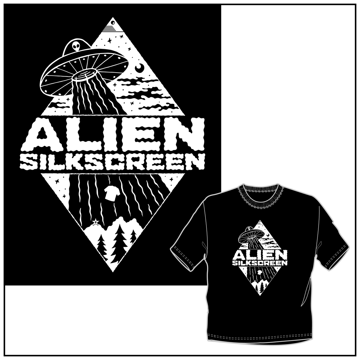 Alien Silkscreen Transport (preorder)