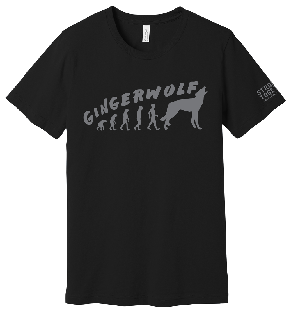 """Gingerwolf """"Stronger Together"""" Tee"""