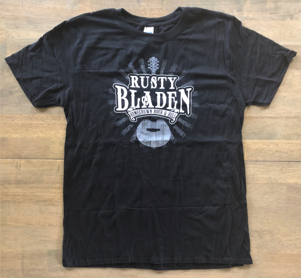 Image of Rusty Bladen Black Western Tour Shirt