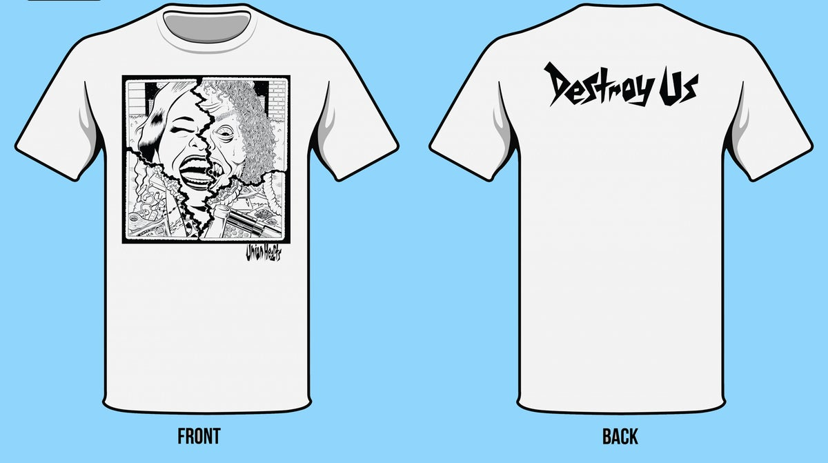 Image of Union Hearts- Destroy Us Tee