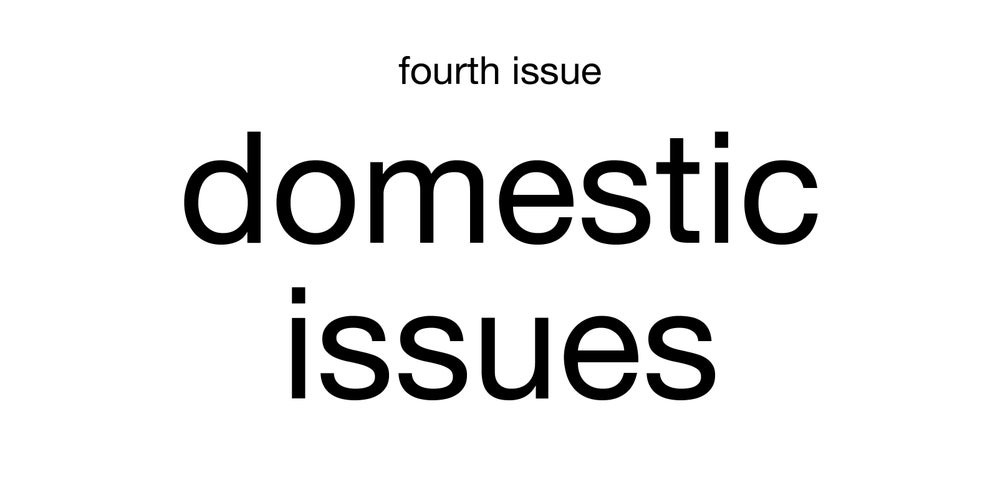 Image of domestic issues