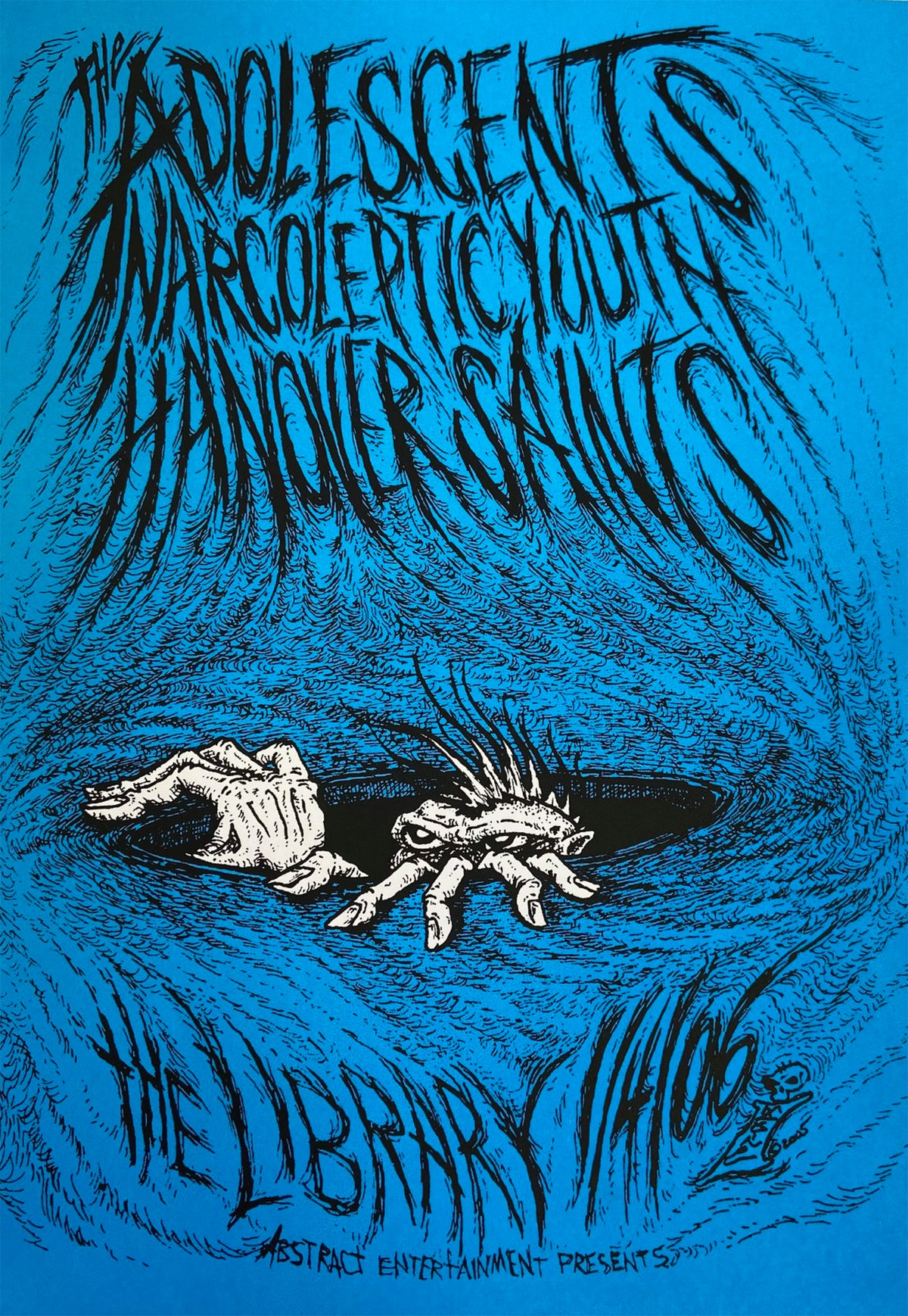Image of Adolescents, Narcoleptic Youth, Hanover Saints 2006 Poster