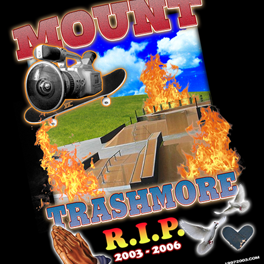 R.I.P. TRASHMORE - T-SHIRT