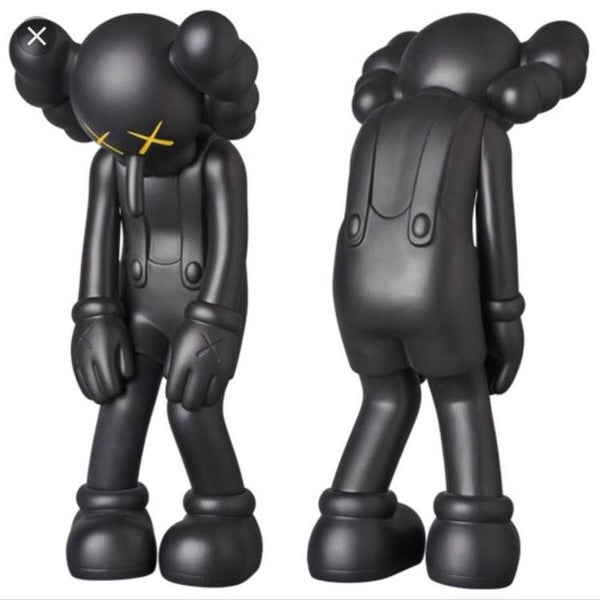Image of KAWS SMALL LIES BLACK - OPENED to check -  LAST ONE