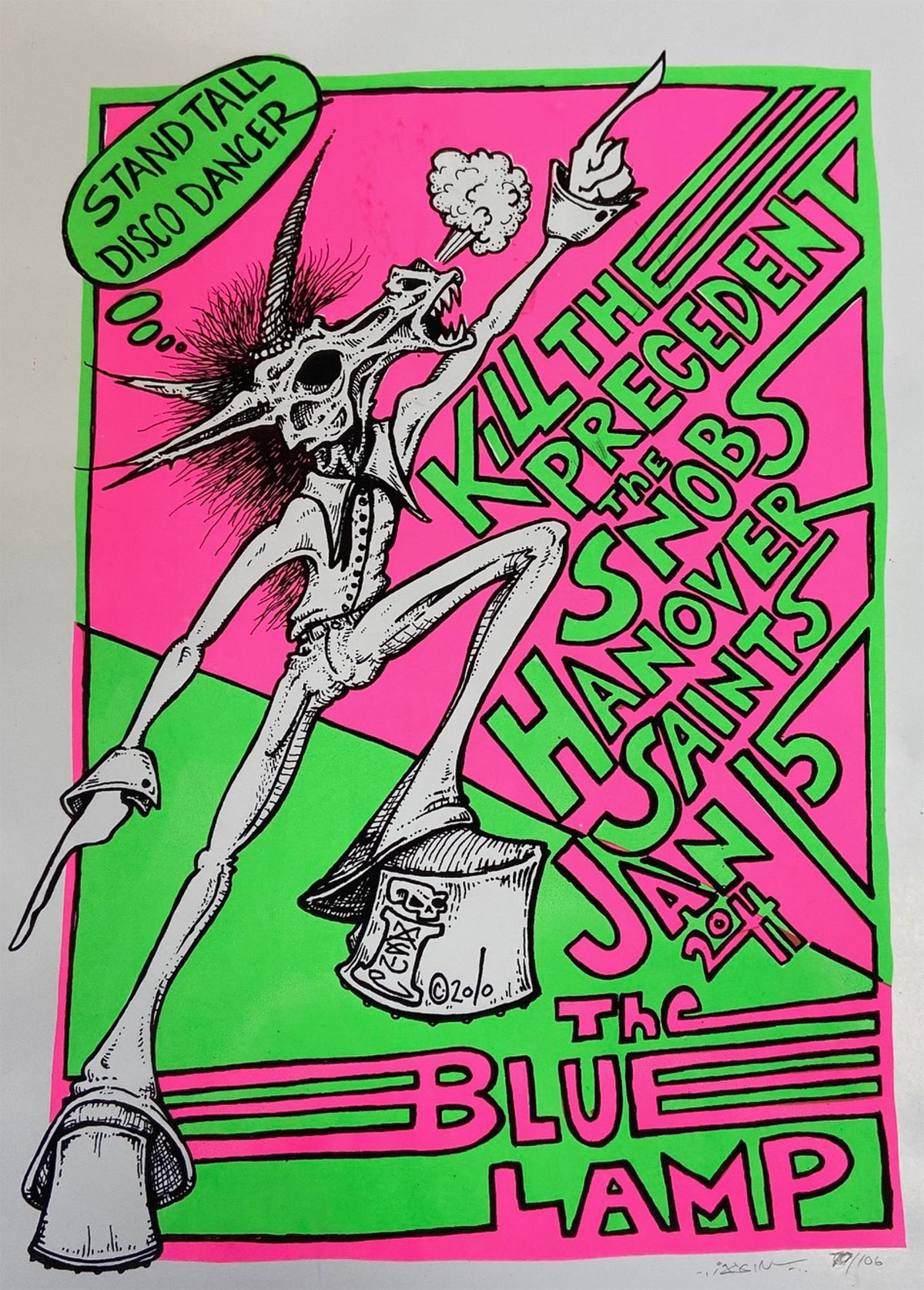 Image of Kill the Precedent, The Snobs, Hanover Saints Poster