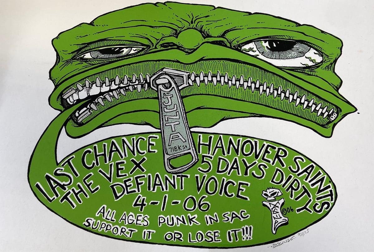Image of Hanover Saints, The Vex, Last Chance, Defiant Voice